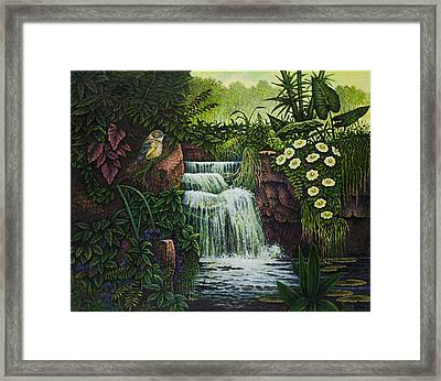 Bird In Paradise IIi Framed Print by Michael Frank