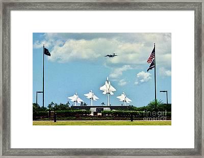 Bird Of Freedom Framed Print