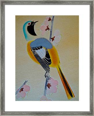 Bird Print Framed Print