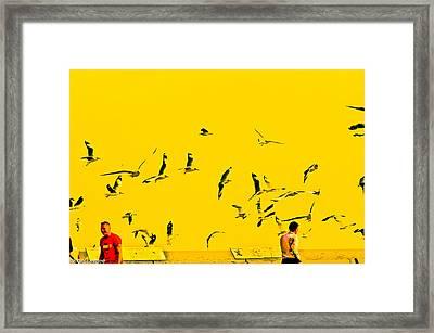 Bird Scenery Framed Print