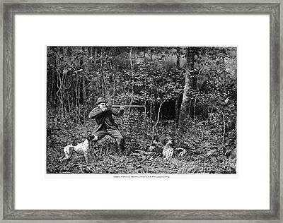Bird Shooting, 1886 Framed Print