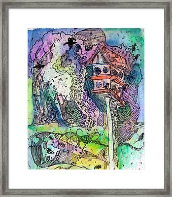 Bird Watchers Framed Print by Mindy Newman