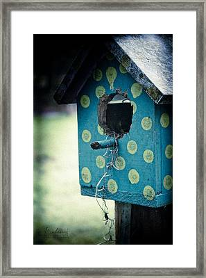 Birdhouse Memories Framed Print
