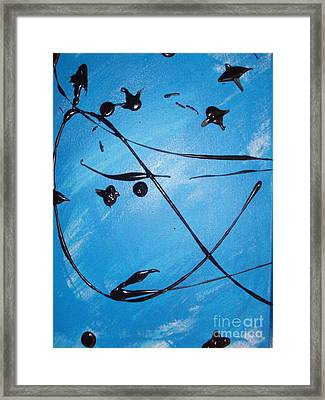 Birds 1 Framed Print by Damion Powell