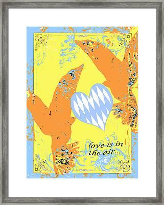 Birds Juvenile Art Framed Print