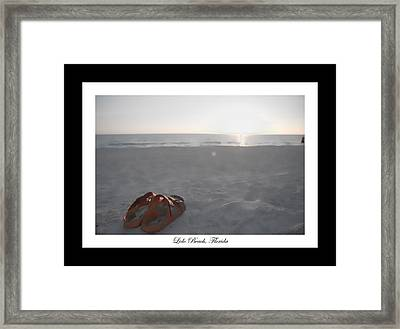 Birks On The Beach Framed Print by Betsy Knapp