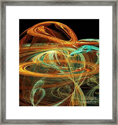 Birth Of A New Planet Framed Print by Andee Design