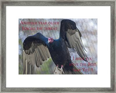 Birthday Card 1 Framed Print by Dennis Hofelich
