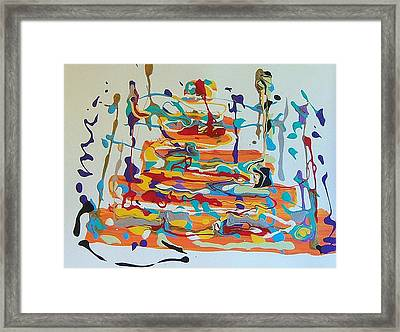 Birthday Framed Print by Helene Henderson