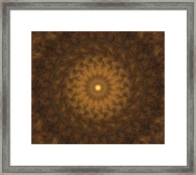 Birthing Mandala 19 Framed Print