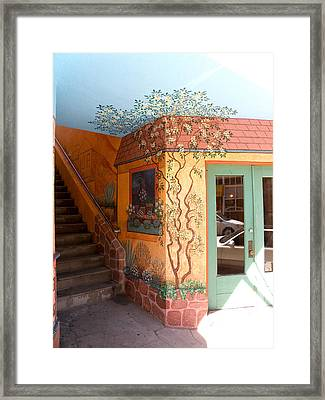 Bisbee Wall Art Framed Print by Feva  Fotos