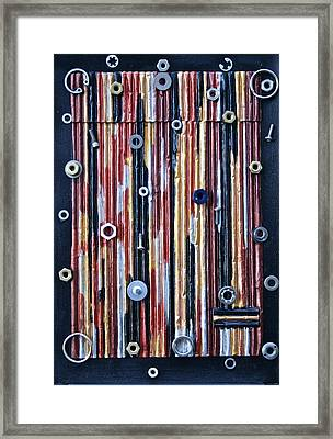 Bits And Pieces  Framed Print by Ruth Edward Anderson