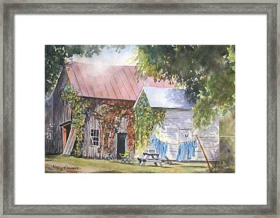 Bittersweet Framed Print by Kathy Nesseth