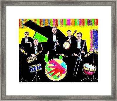 Bix Bandstand Framed Print by Mel Thompson