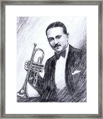 Bix Beiderbecke 1929 Framed Print
