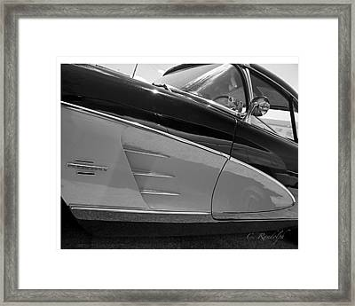 Framed Print featuring the photograph Black And Chrome by Cheri Randolph