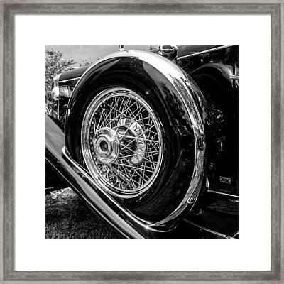 Black And Chrome Framed Print by Ralph Brannan