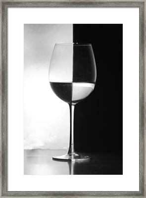 Black And White Framed Print by Ben Alcock