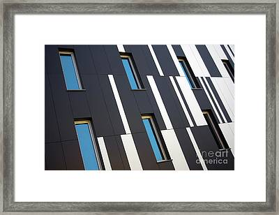 Black And White Framed Print by Carlos Caetano