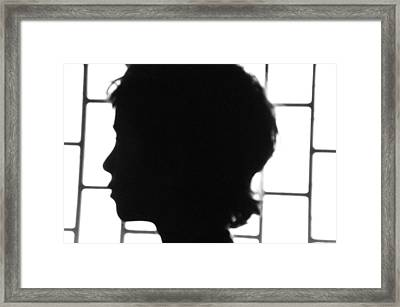 Framed Print featuring the photograph Black And White In Perfect Harmony by Beto Machado