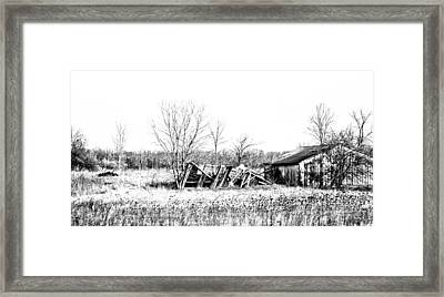 Black And White Memory Framed Print by Tabitha Connis