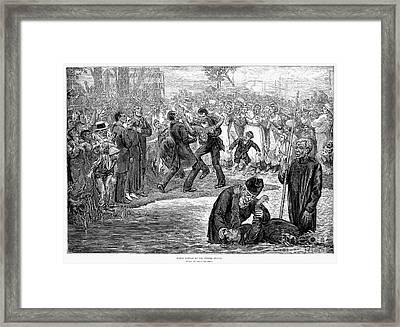 Black Baptism, 1887 Framed Print by Granger