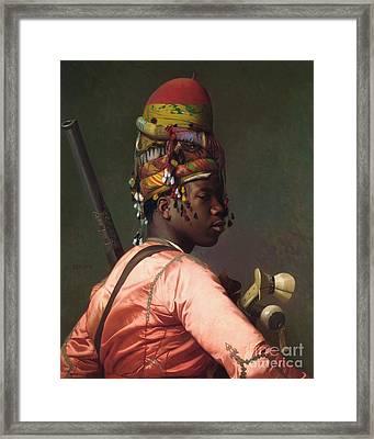 Black Bashi - Bazouk Framed Print by Pg Reproductions