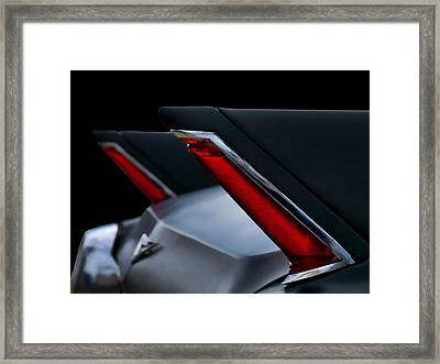 Black Cadillac Framed Print by Douglas Pittman