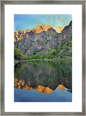 Black Canyon 4 Framed Print by Marty Koch