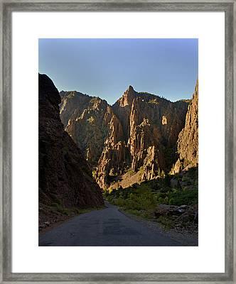 Black Canyon  Framed Print by Marty Koch