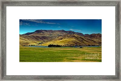 Black Canyon Reservoir Framed Print by Robert Bales