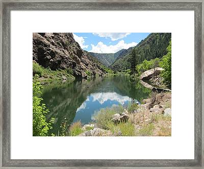 Black Canyon River Framed Print