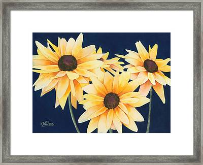 Black Eyed Susans 2 Framed Print