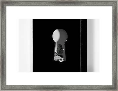 Black Fantasy Framed Print by Mark Ashkenazi