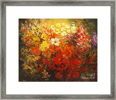 Framed Print featuring the painting Black Forest Hotel by Tatiana Iliina