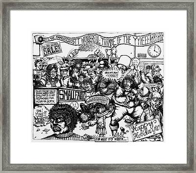 Black Friday Framed Print