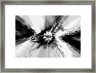 Black Hole Framed Print by Tashia Peterman