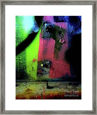 Framed Print featuring the photograph Black Light by Newel Hunter