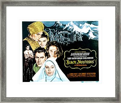 Black Narcissus, David Farrar, Sabu Framed Print