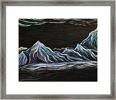 Black On Black Framed Print by Stephanie Meyer