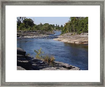 Black River 2 Framed Print by Mary McInnis