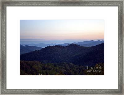 Black Rock Mountain-36 Framed Print