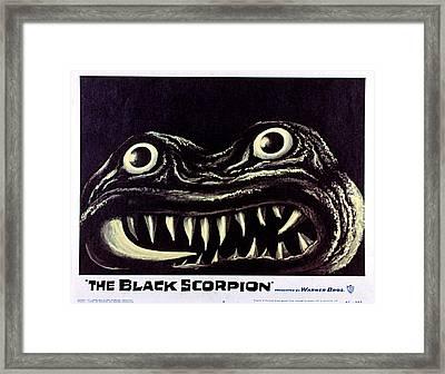 Black Scorpion, The, 1957 Framed Print