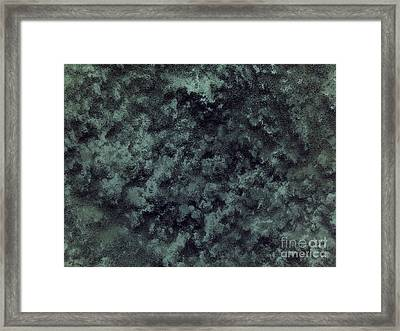 Black Snow Framed Print by Silvie Kendall