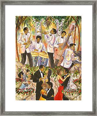 Black Tie Affair Framed Print by Frank Sowells Jr