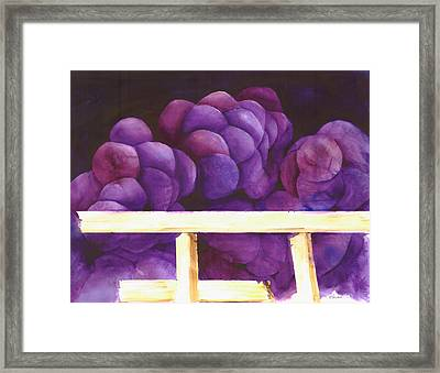 Blackberry Whine Framed Print