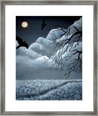 Blackbird Framed Print by Edwin Alverio