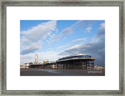 Blackpool Pier Framed Print by Andrew  Michael