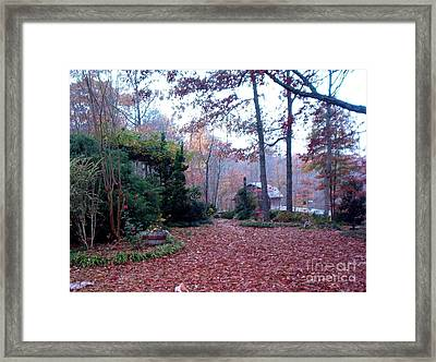 Framed Print featuring the photograph Blacksmith Shop by Gretchen Allen