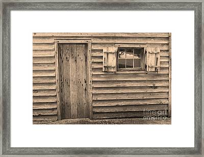 Blacksmith Shop Framed Print by Suzanne Gaff